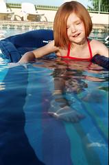 (oh it's amanda) Tags: swimming 35mm niece fujisuperhq100 yashicaelectro35gt yashicagt