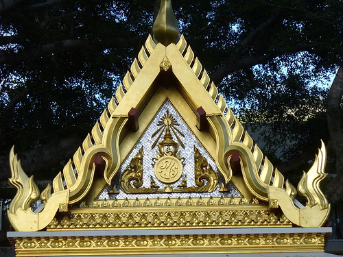 Thai Pavilion Roof Detail