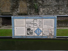 36. The London wall walk panel 14