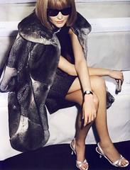 L'Icne (Ze Cali Fairy) Tags: fashion magazine vogue editorial mariotestino annawintour frenchvogue vogueparis carineroitfeld snejanaonopka