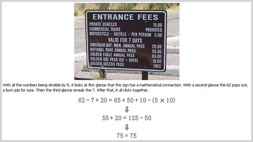 Road Sign Math