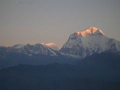 Golden Dhaulagiri (lalamitranjan) Tags: world nepal mountains beautiful sunshine clouds river fantastic stream skating exotic huge kathmandu annapurna himalayas mandir langtang janaki janakpur dhulikhel dhaulagiri amitranjan himalayankingdom beautifulnepal kyangjing