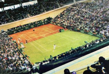 Court de Tennis Hybride