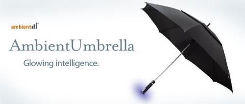 Ambient Devices produtora do guarda-chuva que sabe quando vai chover...