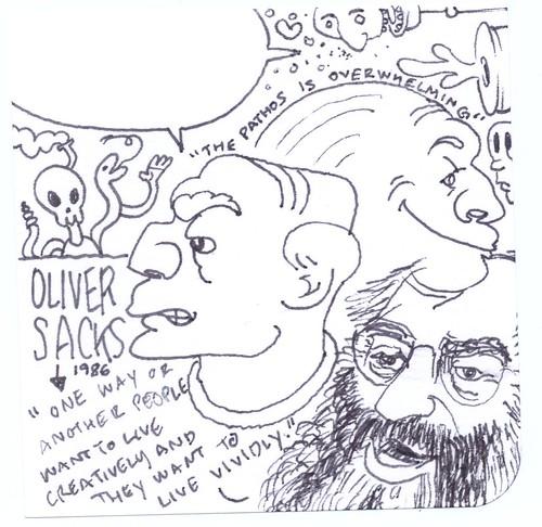 Oliver Sacks, 1986