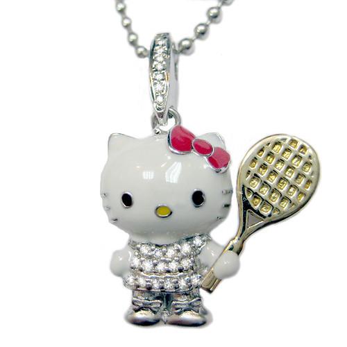Hello Kitty Tennis Necklace