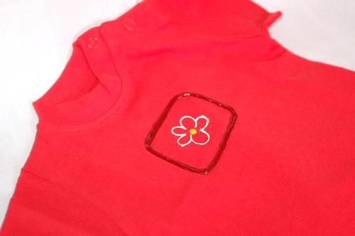 T-shirt flor
