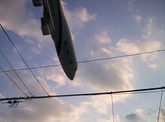 Airplane Crash (jasonmcconnie) Tags: plane airplane kodak crash pointandshoot nosedive