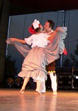 Mexican Folk Dance at the Forks (elsamaywilson) Tags: kissing folksy