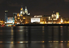 Amazing graces (Mr Grimesdale) Tags: reflection liverpool sony threegraces mersey pierhead merseyside capitalofculture rivermersey mrgrimsdale stevewallace capitalofculture2008 liverpoolcapitalofculture2008 dsch2 europeancapitalofculture2008 liverpoolatnight photofaceoffwinner liverpoolcapitalofculture pfogold mrgrimesdale grimesdale