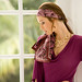 Bohemian style: Scarves as headbands