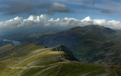 A ribbon of clouds over Llanberis (jimmedia) Tags: from clouds us top over down snowdon ribbon llanberis snowdonia draws a superhearts