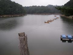 三名湖は減水ちゅー