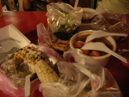 台南遊-夜市晩餐