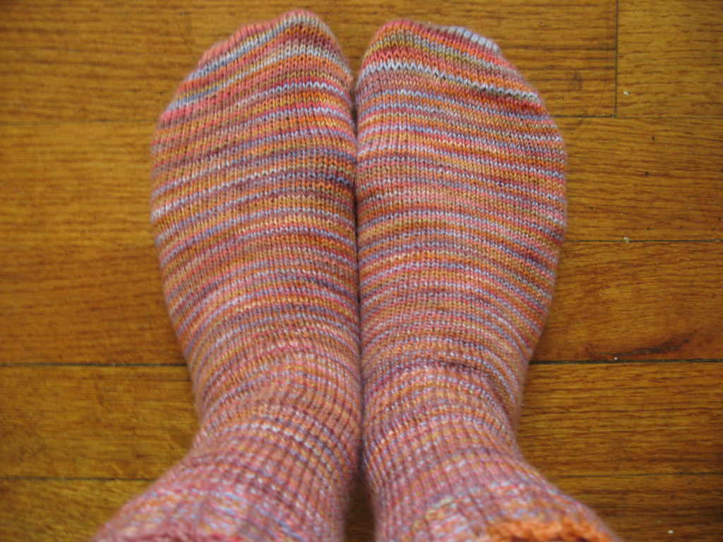 Claudia Blue Terra Cotta socks_01
