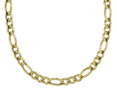 14k Polished Figaro Link Chain