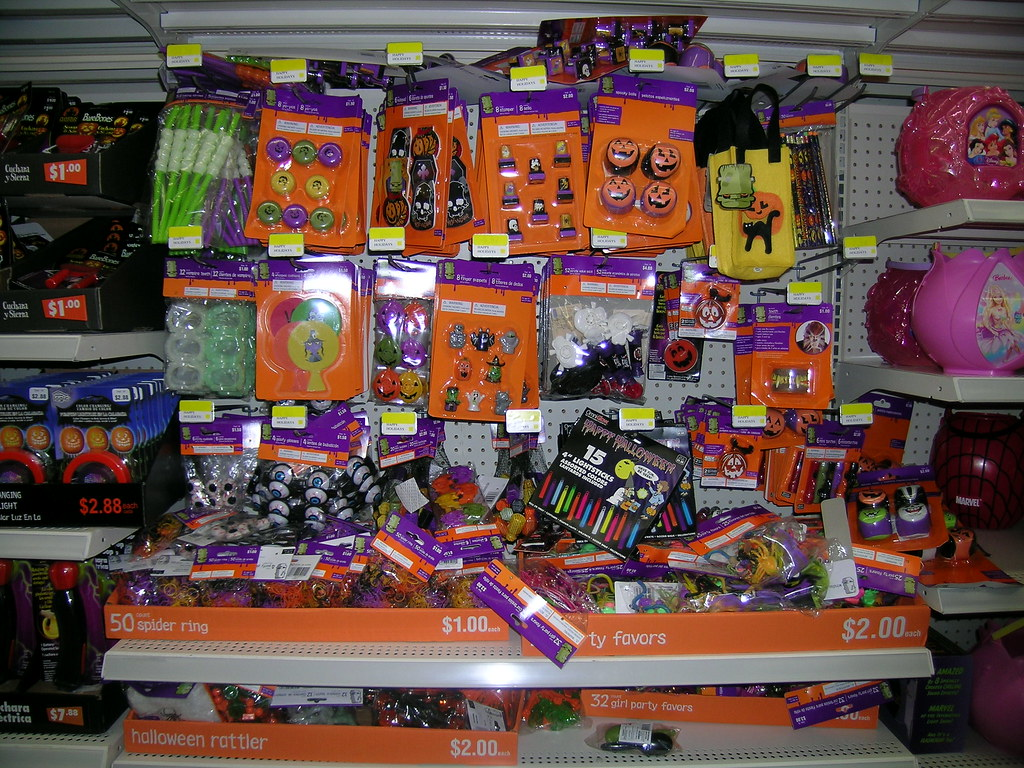 Halloween, discount Wal-Mart style… | Branded in the 80s