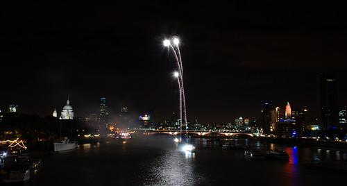 Thames Festival Fireworks 02