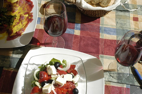 lunch in Assisi