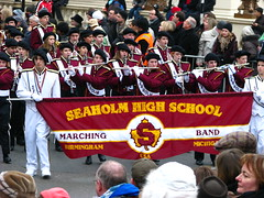 New Year's Day Parade (Tetramesh) Tags: uk greatbritain england london birmingham unitedkingdom britain michigan londres marchingband londra pallmall newyearsday sw1 londen lontoo waterlooplace londyn londn newyearsparade  newyearsdayparade londona newyearparade londonas cockspurstreet tetramesh  seaholmhighschool newyearsparade2009 newyearsdayparade2009 londonnewyears 2009londonnewyearparade londonnewyearparade2009 londonnewyear2009parade geo:lat=51507333 geo:lon=0132806 londr