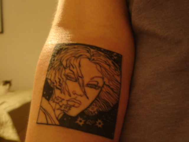 From Frank MIller's Sin City--Family Values. Deluxe Tattoo, Jason Vaughn