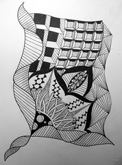 (Jo in NZ) Tags: drawing doodle penandink nzjo zendoodle zentanlge