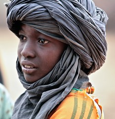 Touareg boy (ingetje tadros) Tags: africa travel portrait face dark eyes child desert faces young culture tribal afrika remote mali touareg tulband tribel memorycornerportraits ingetjetadros