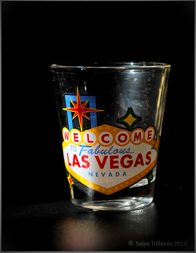 Shot Glass from the Sin City