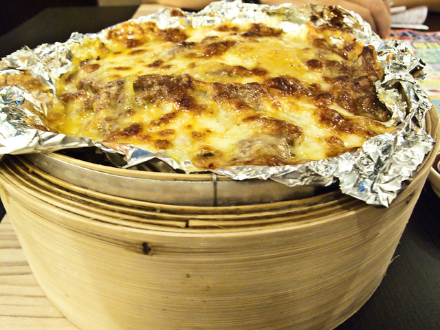 IMG_1026 Cheese Baked Rice with Beef ,牛肉芝士焗饭