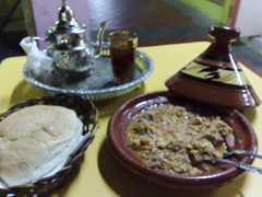 Koofta Tagin and Moroccan Tea