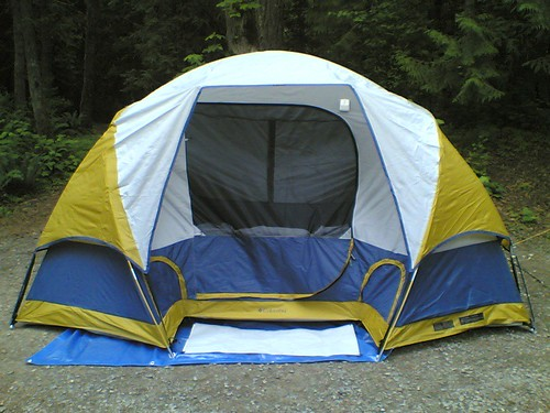 The Vancouver Bollwitt's First Tent