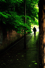 There's light at the end... (UmX) Tags: uk summer rain canon eos 50mm scotland edinburgh britain great 18 30d