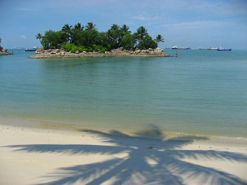 Santoas Beach in Singapore