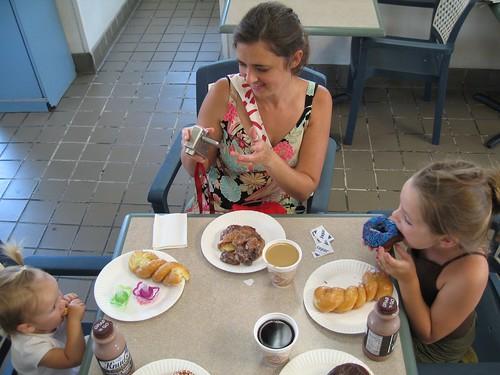 special treat doughnut breakfast