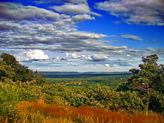 Viewpoint (Nicholas_T) Tags: summer sky clouds rural landscape pennsylvania plateau valley creativecommons poconos delawarewatergap bluemountain appalachianmountains stratocumulus monroecounty kittatinnymountain mountpoconooverlook knobroad