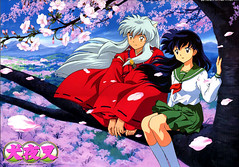 Inuyasha and Kagome (Cherry.Vanilla2008) Tags: dog souls word four japanese is spirit young manga monk fairy fox demon slayer takahashi period tale inuyasha sengoku meaning jewel yasha rumiko lecherous inu feudal otogi nekomata a naraku zshi halfdemon buddhismrelated