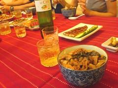 Japanese Theme at Dinner