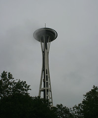 space needle aamulla