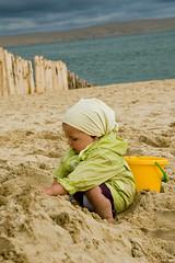 Plezant op 't strand