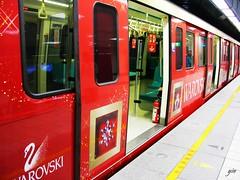 2004 SWAROVSKI 施華洛世奇捷運列車