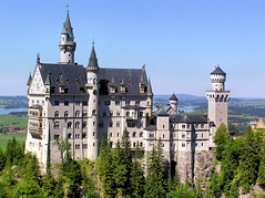 King Ludwig's Neuschwanstein Castle in Bavaria (Bn) Tags: alps castles germany munich bayern bavaria chocolate disney neuschwanstein topf100 octoberfest schlossneuschwanstein fssen cinderellacastle richardwagner neuschwansteincastle 100faves fairytalecastle newswanstonecastle alpinefoothills bucketlist disneylandssleepingbeautycastle famousgermancastle thecastleofthefairytaleking kingludwigsneuschwansteincastleinbavaria municipalityofschwangau southwestbavariagermany kingludwigsneuschwanstein fairytaleking picturesquehohenschwangauvalley holidayinthebavaria