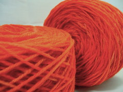 Red/Copper yarn