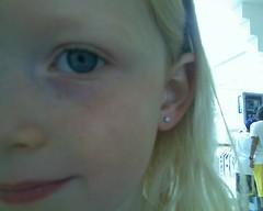 camryn ear's pierced