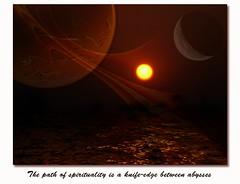 spirituality (rutchee) Tags: art collage photoshop bravo flood digitalart cell shield apophysis spiritual lunar soe excellence ruchira parihar rutchee bhawnani wwwruchirainfo wwwrutcheecom