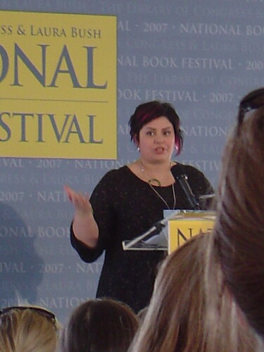 Holly Black gave a fascinating talk about urban fantasy and urban legends ...