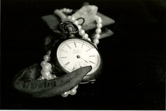 (osteffich) Tags: pearls pocketwatch