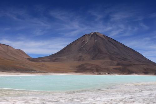Laguna Verde and Volcán Licancabur