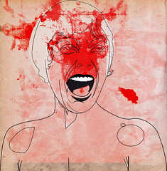 0001 (alvaro tapia hidalgo) Tags: woman film blood psycho scream horror hitchcock grito sangre shout psicosis