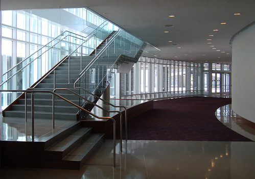 Forbes Center Dedication - Stairway