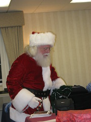 Seriously - isn't he an awesome Santa?